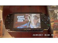 PSP and game for sale