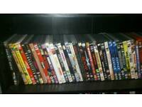 90 DVDs all go films and good condition