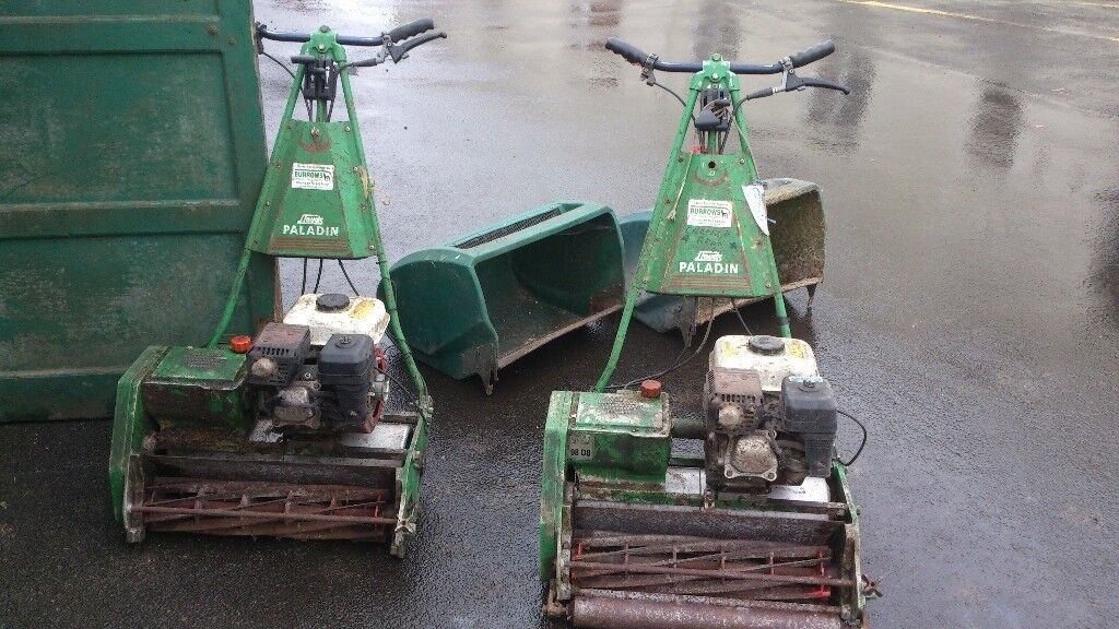 Two Lloyds Paladin walk behind mowers - SOLD TO PAUL