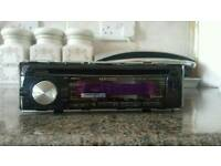 Kenwood KDC-BT42U Bluetooth CD/radio stereo