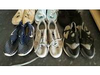 6 pairs trainers size 7 & 8