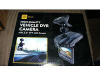"Dash Cam Car Camera High Quality Vehicle DVR Camera with 2.5"" Screen BRAND NEW ALL BOX £20.00"