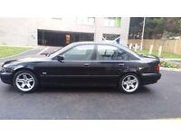 BMW 523i auto black fully loaded leather