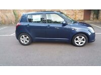 Suzuki SWIFT,2007,Diesl 1.3,HPI clear,5 doors , long MOT,Blue,only 67K
