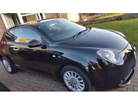 Alfa Romeo Mito (2014),Black, Low mileage (18500), £0 road tax. 1 lady owner
