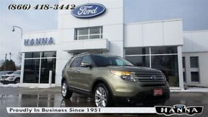 2013 Ford Explorer LTD 4X4 V6 *PARK ASSIST*