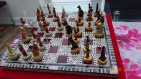 Handmade Egyptian Chess Set