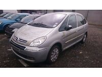 2005 CITROEN XSARA PICASSO LX HDI, 1.6 DIESEL, BREAKING FOR PARTS ONLY, POSTAGE AVAILABLE NATIONWIDE