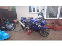 04 Yamaha YZF R6, Private number plate, Good condition