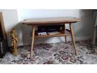 Ercol butlers coffee table