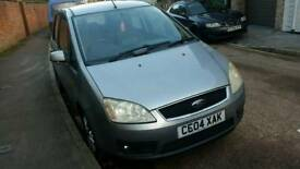 FORD CMAX 2004 1.8 PEOPLE CARRIER DRIVES WELL 07855666635 CALL TEXT