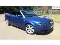 Audi A4 3.0 Sport Convertible, Manual, ONE OWNER,FULL LEATHER Interior, HEATED SEATS,