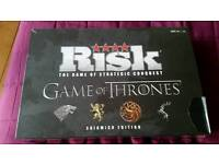 Risk - Game of Thrones Edition. New