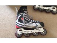 Inline skates UK size 10 (adult)