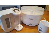 Tommee Tippee Perfect Prep machine, bottle steriliser, electric bottle warmer