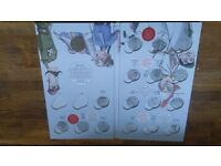 First edition coin hunt 50p album with completer