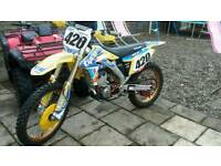 Rmz 250f looking for swaps quads kxf kx cr crf ktm