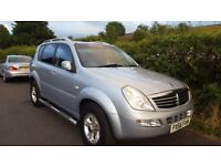 Rexton 4x4 Diesel. MOT. Great Drive. Luxury