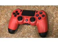 PS4 Official Dual Shock 4 Red Controller