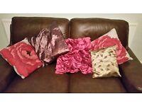 Five Assorted Cushions