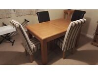 Great Condition Dining table and chairs