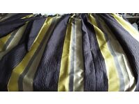 """Fully lined curtains - 128"""" x 50"""""""