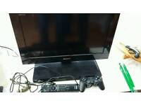 """Sony Bravia 22"""" Tv/DVD With built-in PS2"""