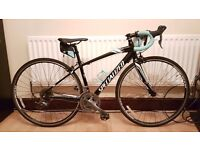 Specialized Dolce X3 Equipped 2014 Women's Road Bike Carbon Fork 48cm