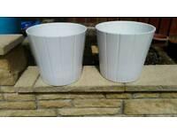 Ceramic glazed planters