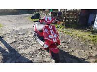 TGB Hawk 50cc scooter 1 female owner selling due topassingcar test