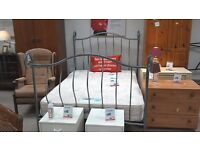 Lovely double metal bed frame.