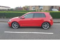 "Exc. Cond. GENUINE VW Golf R Line Pretoria 19"" Alloy Wheels With Falken Tyres"