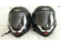 Caberg justissimo helmets I clouding just speak intercom