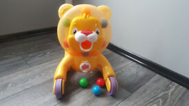 Baby walkers, ride on, push along 3 in 1 lion