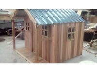 kids Cedar Playhouse 7 x 6