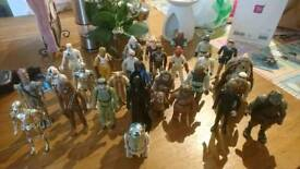 29 Original vintage starwars figures
