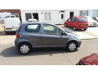 SUPERB TOYOTA YARIS WITH JUST 18,000 MILES. 1.0 LITRE