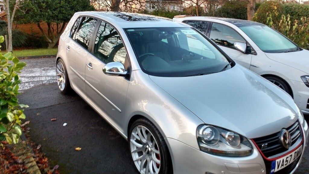 2007 vw golf mk 5 gt sport tdi 5 door automatic pdk gearbox sunroo full leather in colinton. Black Bedroom Furniture Sets. Home Design Ideas