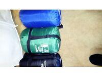 5 Sleeping bags