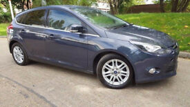 2013 Ford Focus 1.6 TDCi Titanium 5dr Manual - Low miles - Road Tax £20 A Year