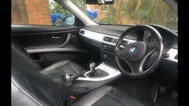 BMW 320D Coupe 2.0 Silver 2 dr excellent condition low mileage