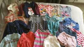 18 piece bundle of girls clothes 2-3 years