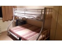 Double bunk bed very good condition
