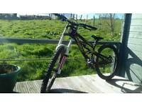 Scott voltage fr 20 downhill bike
