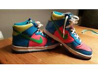 Girls Ladies Nike high top trainers size 5