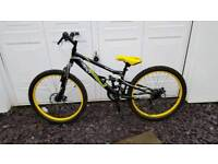 Halfords frenzy childs mountain bike