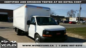 2012 Chevrolet Express G3500 16Ft Gasoline Cube Van