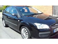 "FORD FOCUS 1.6 5 DOOR BLACK ""MINT RUNNER+LOW MILES"""