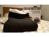 Brand new foot warmer & massager
