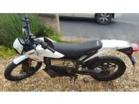 Motorbike Electric Zero XU 2012 model registered Jan 2013